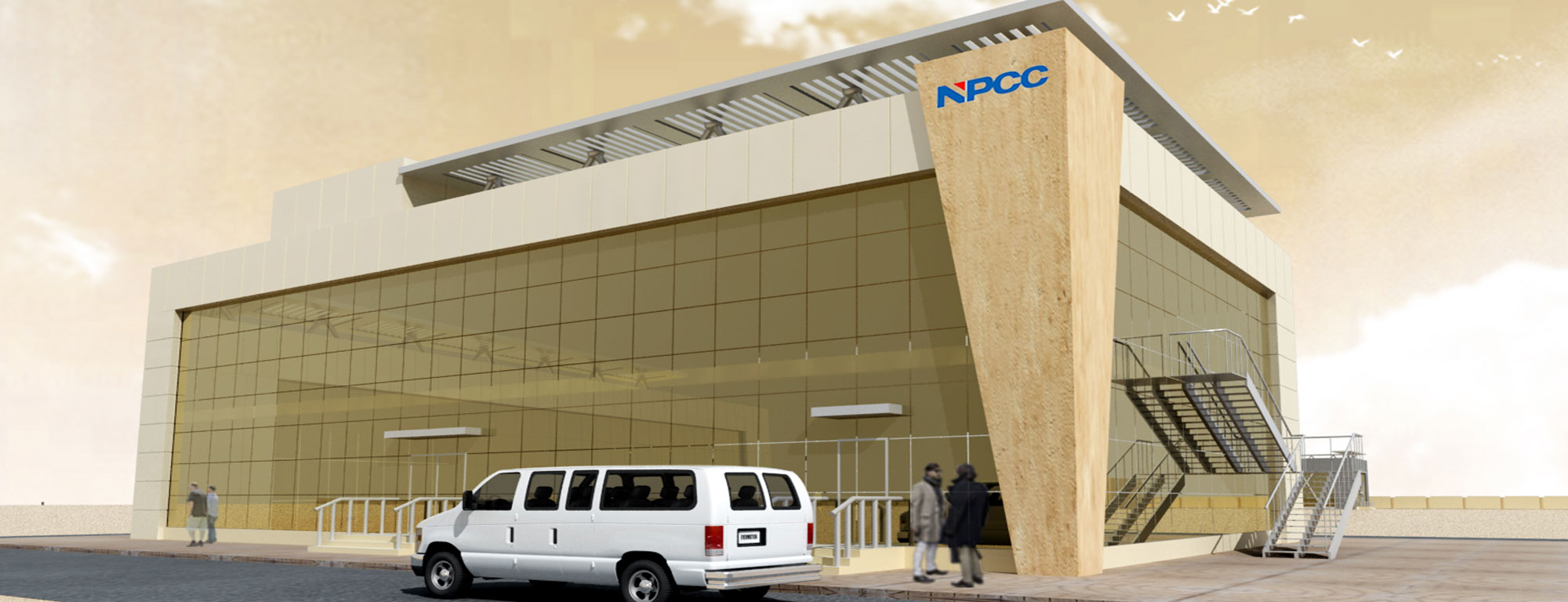 NPCC Fabrication Building – Bainona Engineering Consultancy